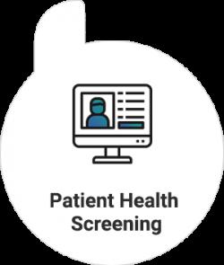 Patient Health Screening Icon